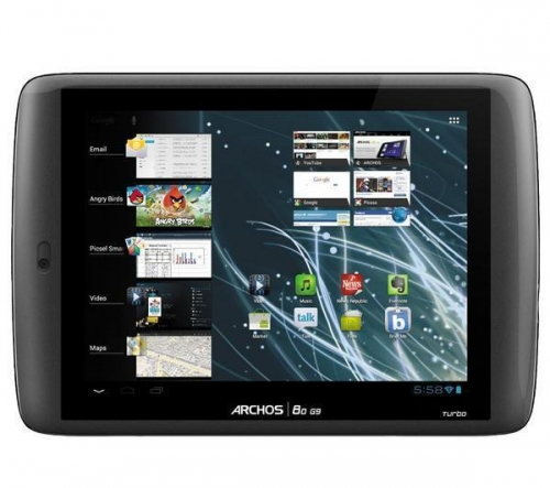 ARCHOS  Internet Tablet ARCHOS 80 G9 Turbo - 16 GB