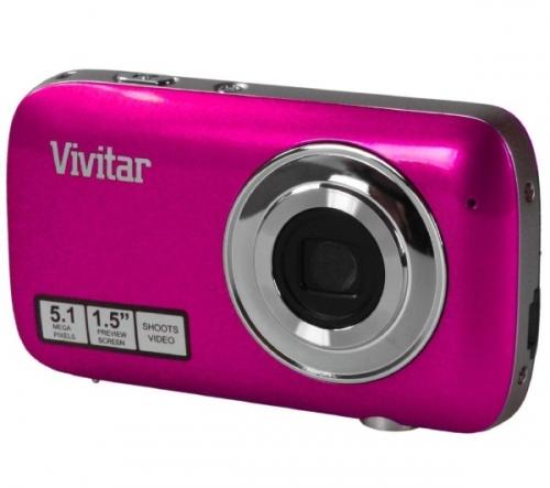 VIVITAR  V52-PNK - rosa - Fotocamera digitale da 5,1 megapixel