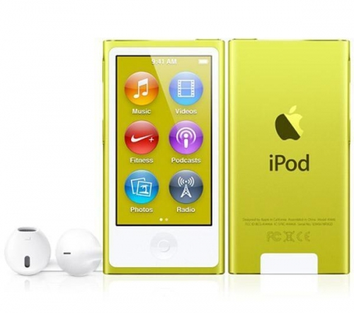 APPLE  iPod nano 16 GB giallo (7ª generazione) - NEW
