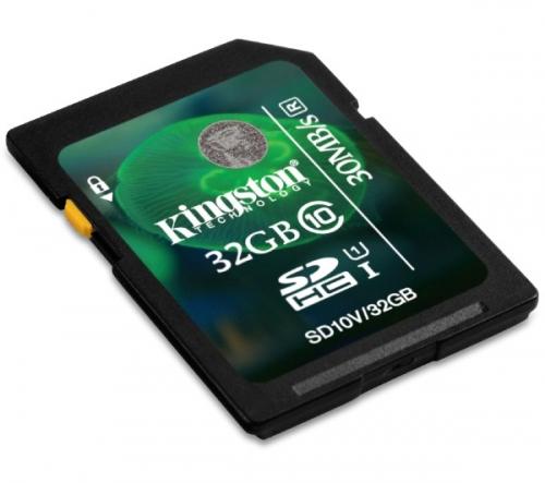 KINGSTON  SDHC 32 GB classe 10 UHS-I 30R - Scheda di memoria