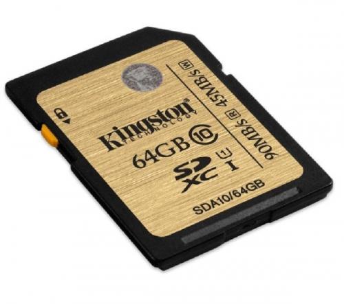KINGSTON  Scheda di memoria SD UHS-I - 64 GB - classe 10