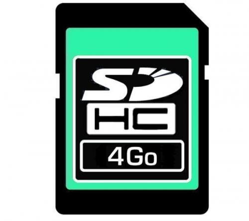 SANDISK  Scheda memoria  SDHC 4 GB