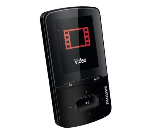 PHILIPS  GoGEAR Vibe - 4 GB - nero - Lettore MP3/MP4