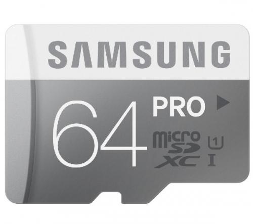 SAMSUNG  Scheda di memoria microSDXC - 64 GB - Classe 10 (MB-MG64D/EU)