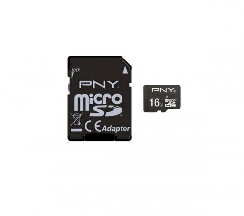 PNY  Micro Sd Class 10 16Gb + Sd Adapter