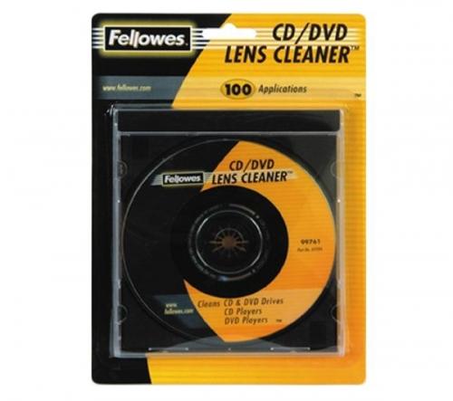 FELLOWES  Disco di pulizia per lettori CD e DVD