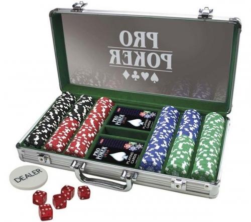 TACTIC  Valigetta ProPoker con 300 gettoni + Valigetta ProPoker con 200 gettoni Ladies Poker