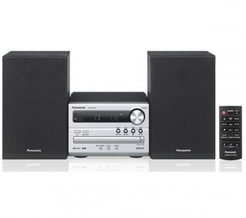 PANASONIC  SC-PM250EC-S - argento - Micro Hi-Fi + MDR-S70AP - nero - Cuffie