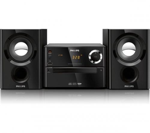 PHILIPS  MCM1150 - Micro Hi-Fi + MDR-S70AP - nero - Cuffie