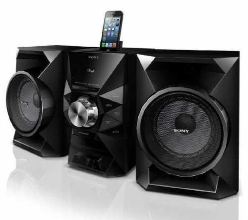 SONY  MHC-EC719iP - Micro Hi-Fi + MDR-S70AP - nero - Cuffie